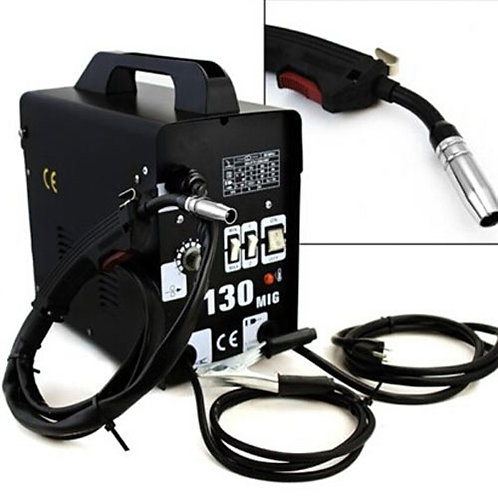 MIG-130 Powerful PVC Welding Machine UK Plug Black