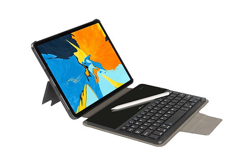 """GeckoCovers - QWERTY Bluetooth Keyboard Cover for iPad Pro 11"""" (2020) - Black"""
