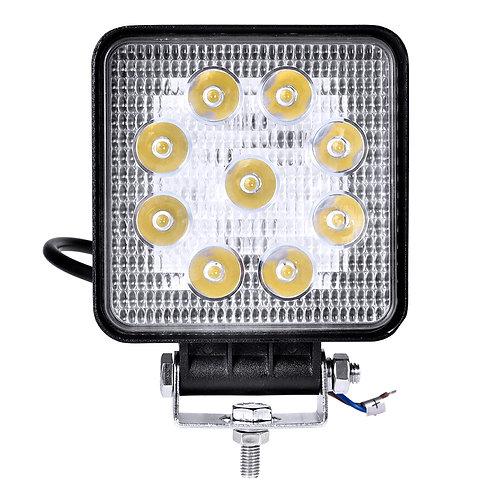 27W LED Work LightFog Lamp Truck Off Road Flood Lights Driving Lamp