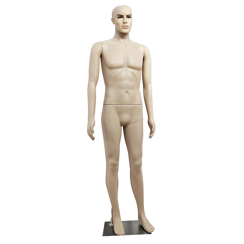 K3 Male Straight Hand Straight Foot Body Model Mannequin Skin Color