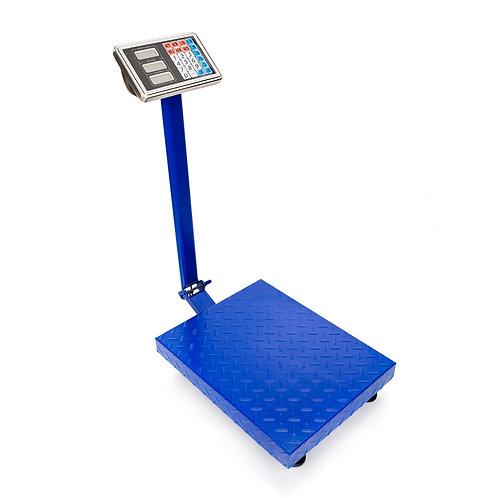 300KG/661lb LCD Digital Personal Floor Postal Platform Scale Blue