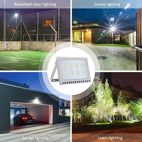 Ultra-SLIM 50W LED Floodlight Spotlight Flood Lights Outdoor Security Cool White
