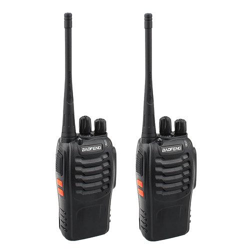 BF-888S 2800mAh Ultra-long Standby Walkie-talkie EU Standard Black