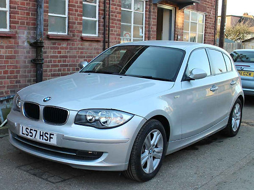 2007 BMW 118d SE 2.0 5 Door Manual Diesel Silver AC Alloys
