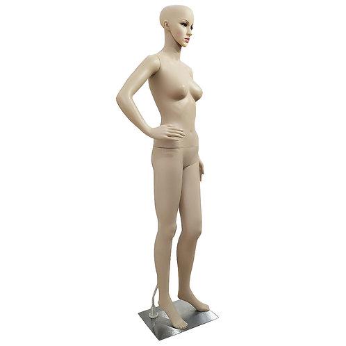 XSL1 Female Akimbo Bent Foot body model Mannequin Skin Color