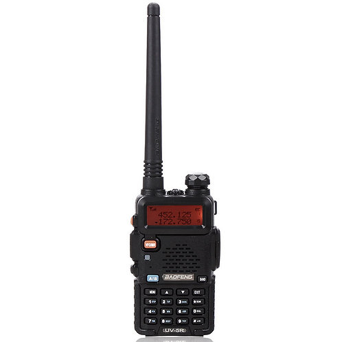 """BAOFENG 1.5"""" LCD 5W 136~174MHz / 400~470MHz Dual Band Walkie Talkie with 1-LED F"""