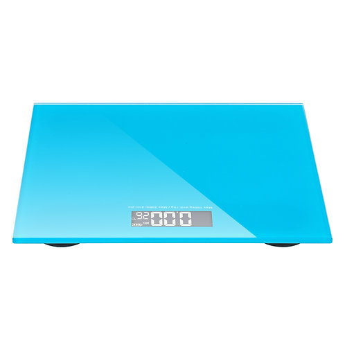 High Strength Toughened Glass 4-Digits LCD Display Electronic Weighting Scale B