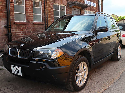 2004 BMW X3 2.5i SE Left Hand Drive Black with Black Leather Automatic