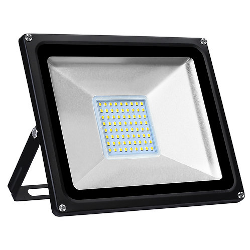 50W LED Floodlight Warm White Security Flood Light