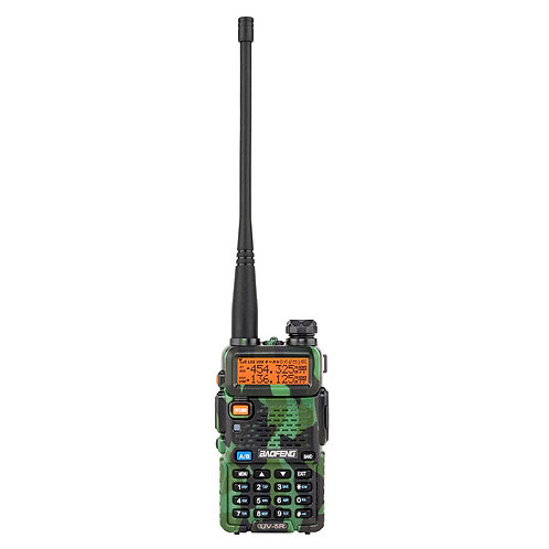 "BAOFENG 1.5"" LCD 5W 136~174MHz / 400~520MHz Dual Band Walkie Talkie with 1-LED F"