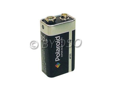 Polaroid 9v PP3 Heavy Duty Battery 1 Pack
