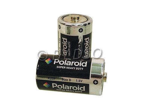 Polaroid D 2 Pack Heavy Duty Battery 2 Pack