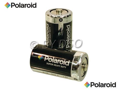 Polaroid C Super Heavy Duty Battery 2 Pack
