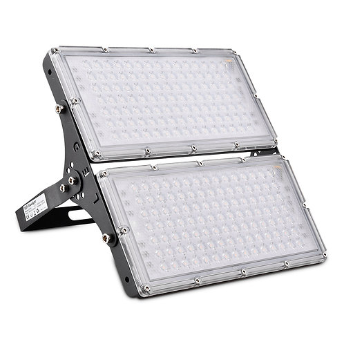 Modular LED Floodlight 200W Outdoor Security Light Warm