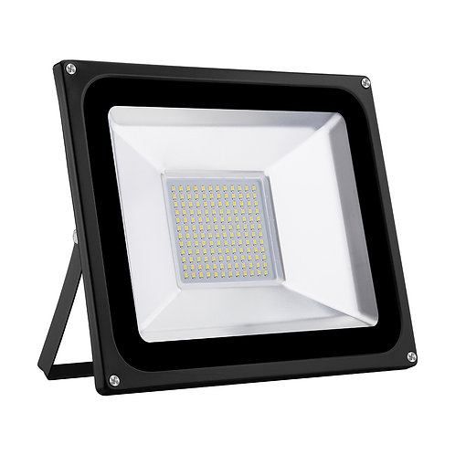 100W LED Floodlight Warm White Security Flood Light
