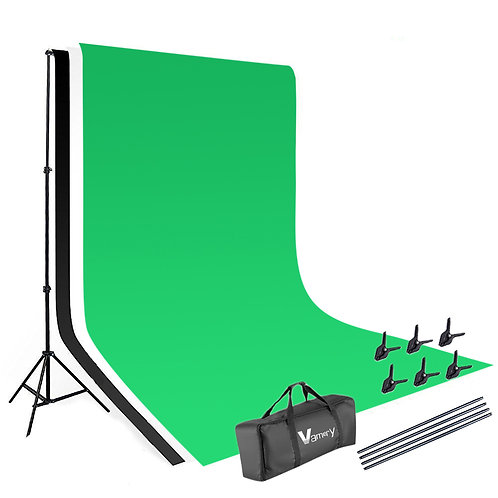 Vamery 1.6*3m Non-woven Fabrics 2*3m Background Stand Photography Video Studio L