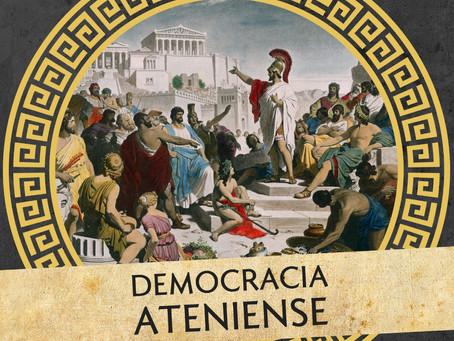 """Novo podcast do Colunas de Hércules: """"Democracia ateniense"""", com Fábio Morales (docente, UFSC)"""