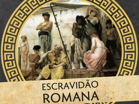"""Fabio Joly fala sobre """"Escravidão romana"""" no podcast Colunas de Hércules"""