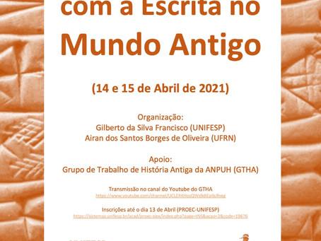 UNIFESP, UFRN e GTHA promovem encontro internacional de epigrafia antiga nos dias 14 e 15 de abril