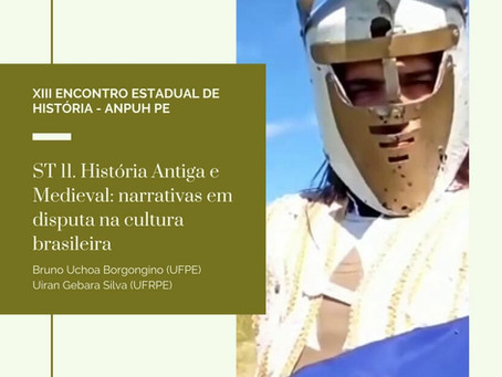 Encontro da ANPUH-PE terá simpósio de antiga e medieval; inscrições até 26 de julho