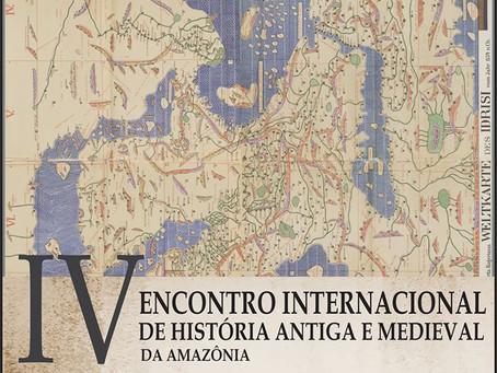 IV Encontro de História Antiga e Medieval da Amazônia, novembro de 2020