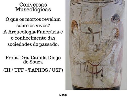23/julho: Camila Souza fala sobre arqueologia funerária em evento da UFMS