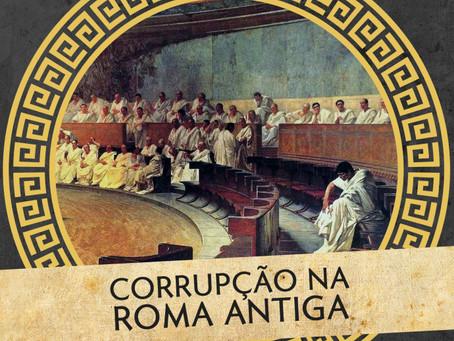 """Fabio Faversani fala sobre """"Corrupção na Roma Antiga"""" no podcast Colunas de Hércules"""