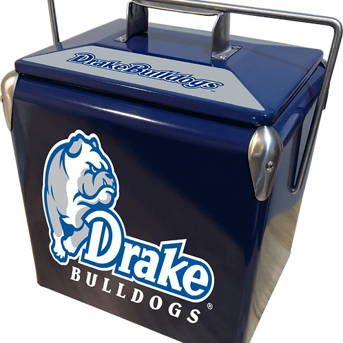 Drake Bulldogs Retro Cooler