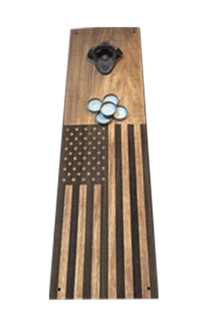 USA Magnetic Bottle Opener