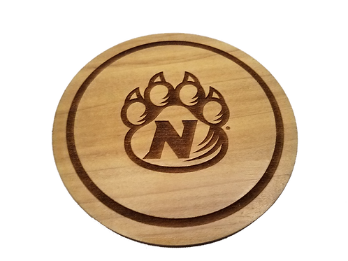 Northwest Missouri State Bearcats Wood Coaster Set