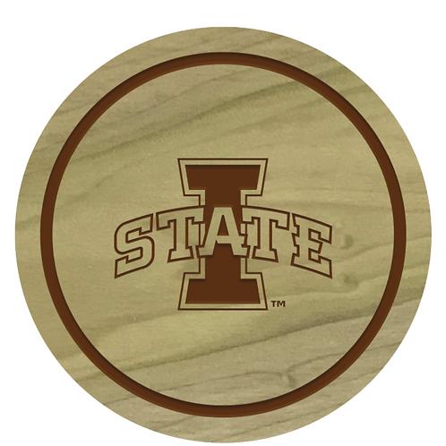 Iowa State Cyclones Wood Coaster Set