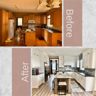 Kitchen Makeovers and Kitchen Remodeling Ideas