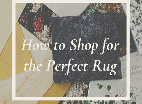 How to Shop For the Perfect Rug