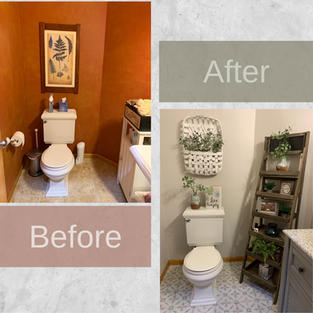 Small Bathroom Makeovers and Small Bathroom Remodeling Ideas