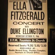 Ella Fitzgerald and Duke Ellington at FSC | 1966