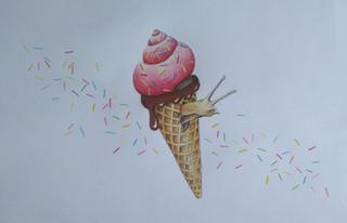 Escargot glace