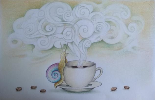 Escargot café