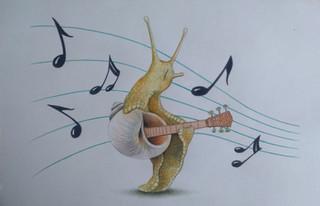 Escargot guitare