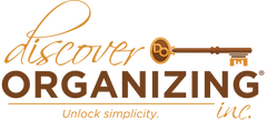 Discover Organizing Logo