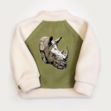 Nash the Rhinoceros Bomber Jacket