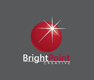 BrightPoint Creative Logo, Custom Logo, Logo Design