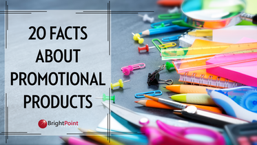 20 Facts About Promotional Products