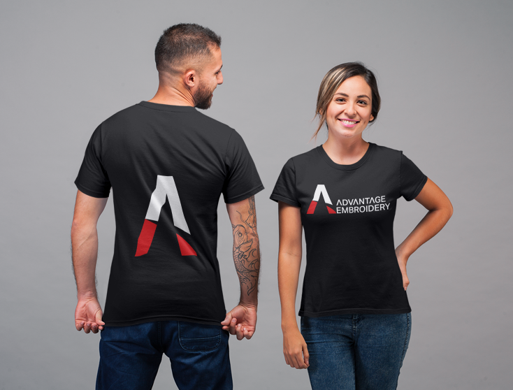 Advantage Embroidery Decoration Services Tee