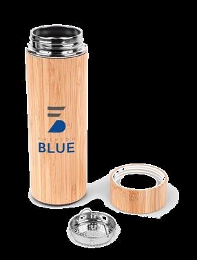 Bamboo Vacuum seal water bottle