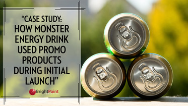 Case Study: How Monster Energy Drinks used Promo Products To Launch