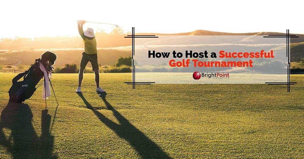 A man golfs in sunset