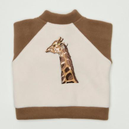 Juneau the Giraffe Bomber Jacket