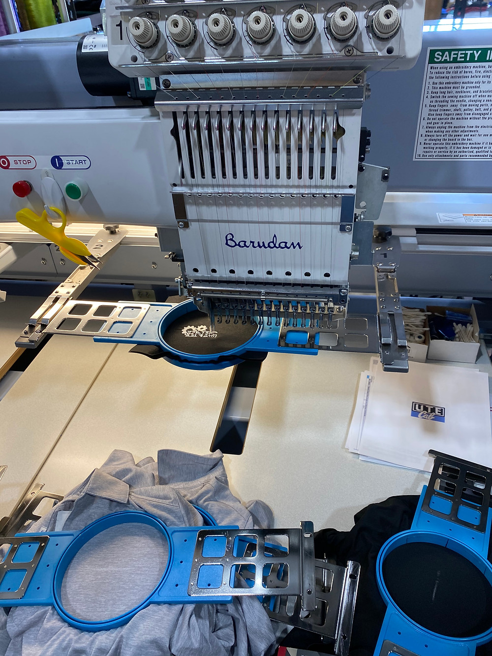 An Advantage Embroidery machine