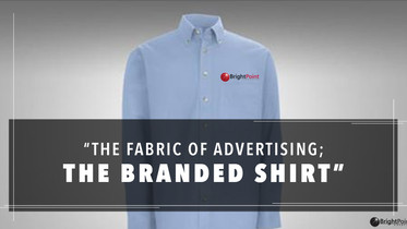 The Fabric Of Advertising; Is The Branded Shirt And Polo