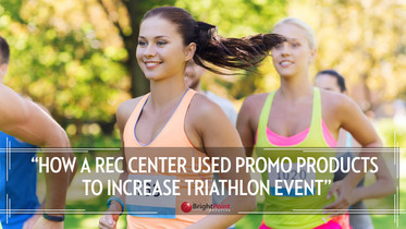 How a Rec Center used Promo Products to Increase Triathlon Event